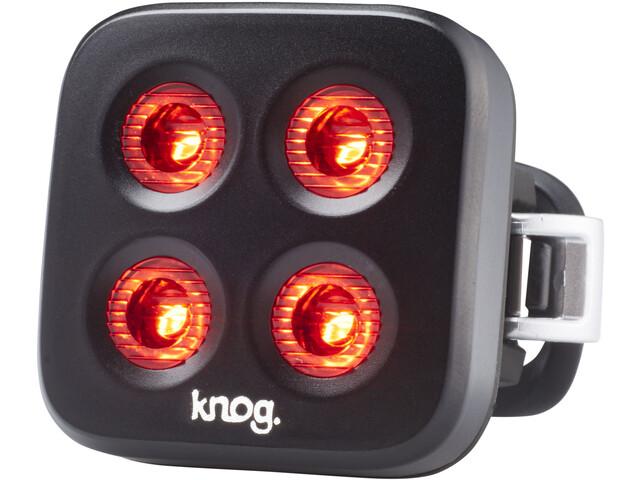Knog Blinder MOB The Face Fietsverlichting rode LED, black